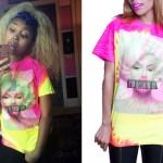 Zonnique Pullins: Tie Dye T-Shirt