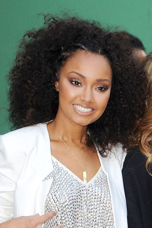 Leigh-Anne Pinnock of Little Mix outside Good Morning America in New    Leigh Anne Pinnock 2014