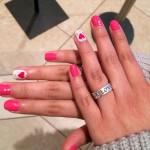 ally-brooke-nails-hot-pink