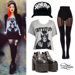 Ash Costello: Cattitude Tee, Cross Platforms