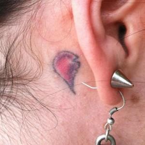 ... Behind Ear Tattoos...