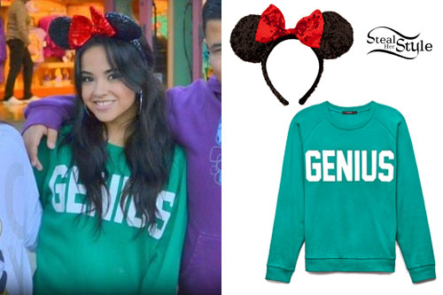 Becky G: Genius Sweatshirt, Minnie Ears