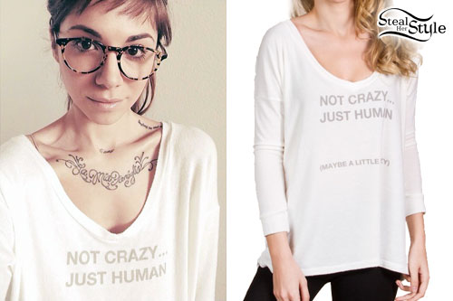 Christina Perri: Not Crazy, Just Human Top
