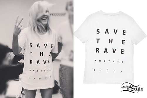 Ellie Goulding: 'Save The Rave' T-Shirt