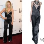 Ellie Goulding: Star Print Jumpsuit