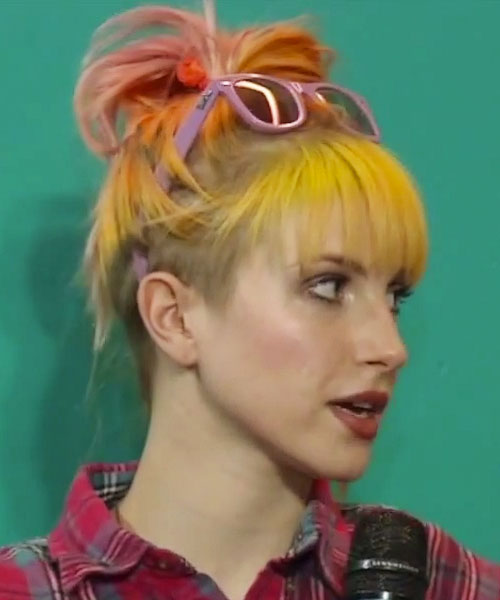 hairstyles with yellow highlights steal her style