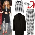 Jade Thirlwall: Gingham Outfit
