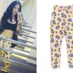 Jasmine Villegas: Tire Print Pants