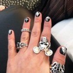 jesy-nelson-nails-black-silver