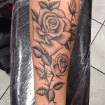 jesy-nelson-tattoo-roses-arm