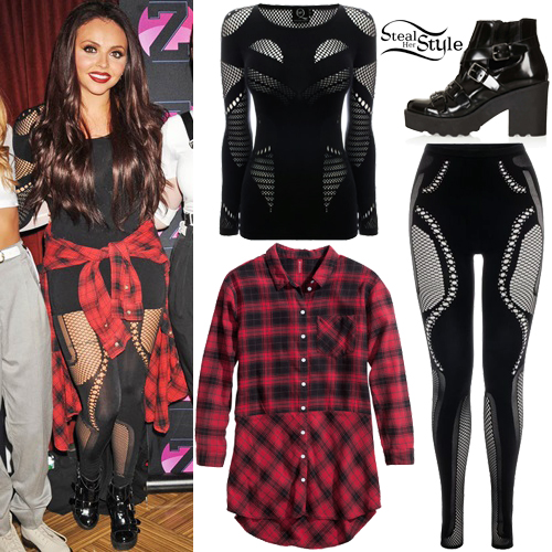 Jesy nelson fashion steal her style page 7 Hard rock fashion style