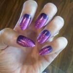 katy-perry-nails-purple-glitter-nalf-moon