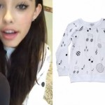 Madison Beer: Music Note Sweater