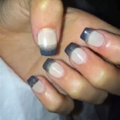 129 Celebrity Nail Art Photos with French Manicure | Page 9 of 13 ...