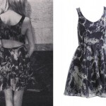 Nina Nesbitt: Printed Cutout Dress