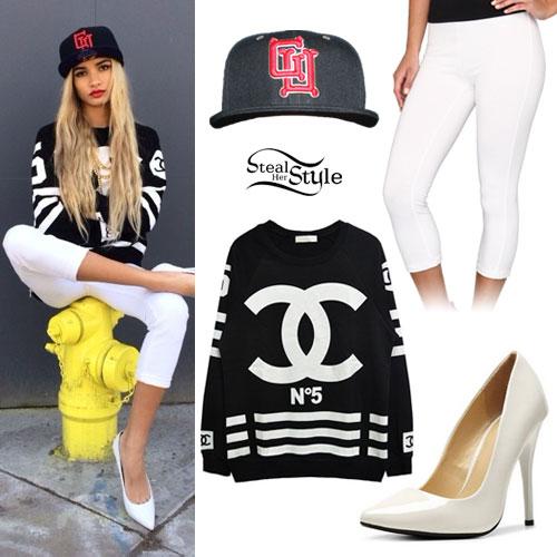 Chanel Sweatshirt Chanel Sweatshirt gu Hat