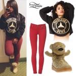 Reginae Carter: Mercedes Benz Sweatshirt