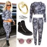 Rita Ora: Credit Card Sweater & Pants