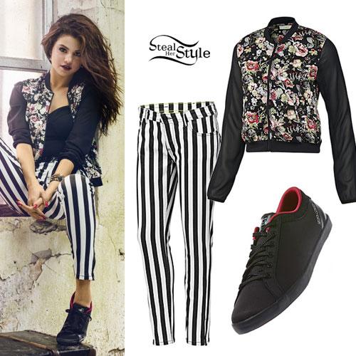 microscopio Gaviota Subrayar  Selena Gomez: Adidas NEO Spring 2014 | Steal Her Style