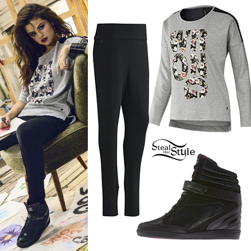 Selena Gomez: Adidas NEO Spring 2014 | Steal Her Style