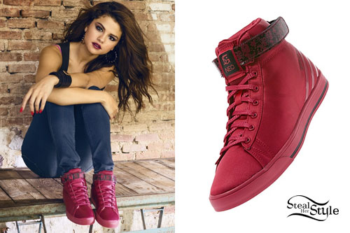 Selena Gomez Adidas Neo Spring 2014 Steal Her Style