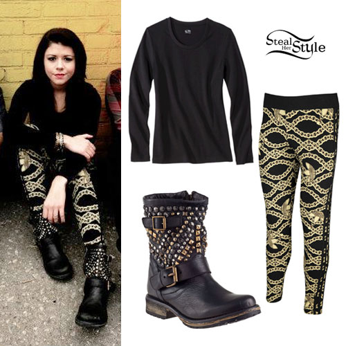Tay Jardine: Chain Print Leggings
