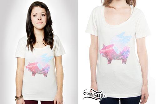 Tay Jardine: Galaxy Pig T-Shirt