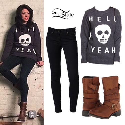 72c318af8e9b85 Tay Jardine  Hell Yeah Sweater