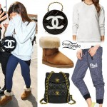 Ariana Grande: Chanel Round Bag & Backpack
