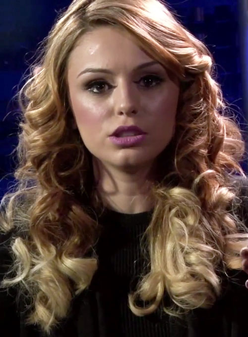 Cher Lloyd Curly Honey Blonde Ombr 233 Hairstyle Steal Her