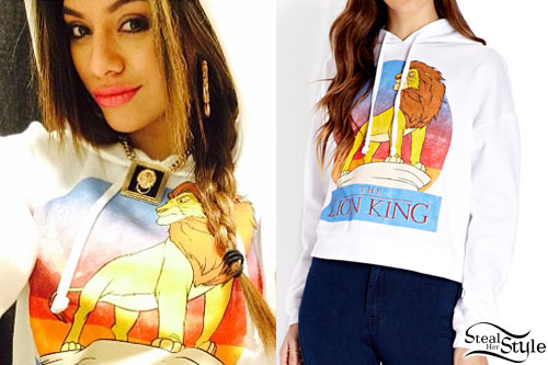 Dinah Jane Hansen: The Lion King Hoodie | Steal Her Style