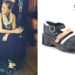 Ellie Goulding: Black & White Mary Janes