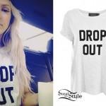 Ellie Goulding: Drop Out T-Shirt