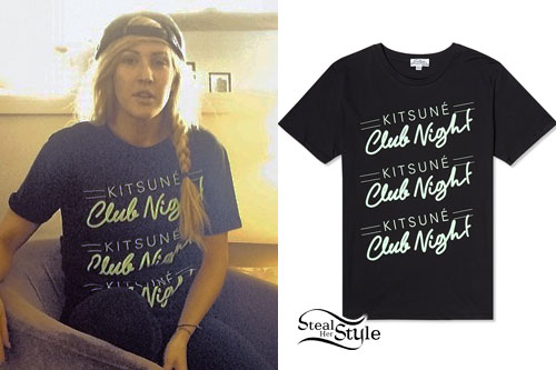 Ellie Goulding: Club Night T-Shirt