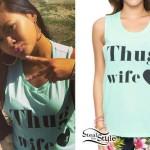 Honey Cocaine: 'Thug Wife' Muscle Tee