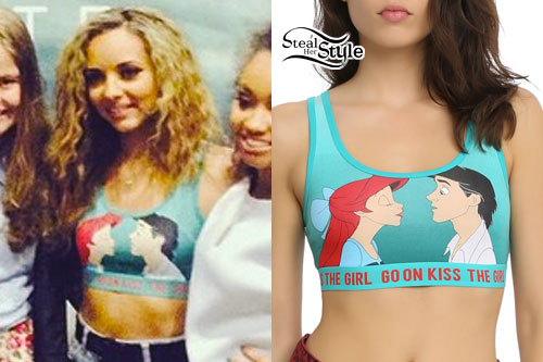 Jade Thirlwall: Little Mermaid Bralet