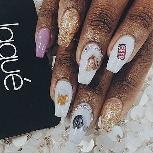 Justine-skye-beer-nails