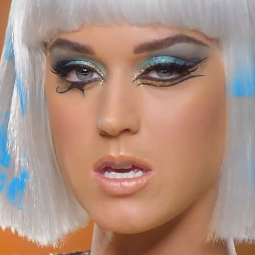 katy perry makeup blue eyeshadow gold eyeshadow amp nude