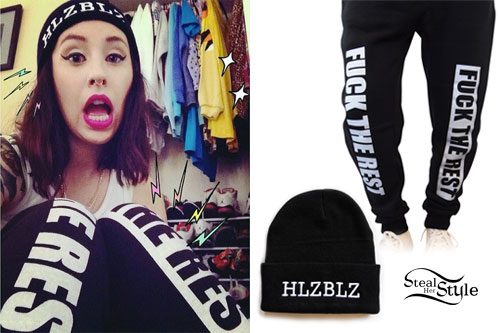 Kreayshawn: 'Fuck The Rest' Sweatpants