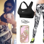 Nicki Minaj: Graphic Print Leggings