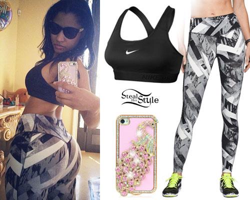 Nicki Minaj: Graphic Print Leggings