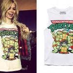 Nina Nesbitt: Ninja Turtles Muscle Tee