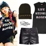 Rena Lovelis: Life Stinks Roses Tee