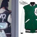 Rihanna: OVO Varsity Jacket