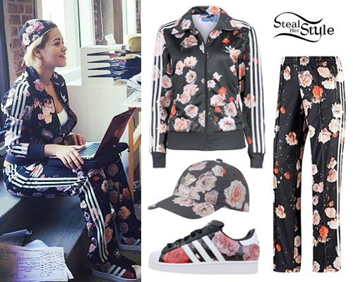 Floral Adidas Tracksuit April 2017