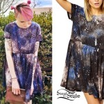 Sherri DuPree-Bemis: Galaxy Print Dress