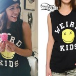 Tay Jardine: Weird Kids Smiley Face Tee