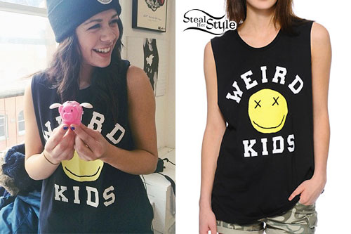 Tay Jardine: Weird Kids Smiley Face Tee