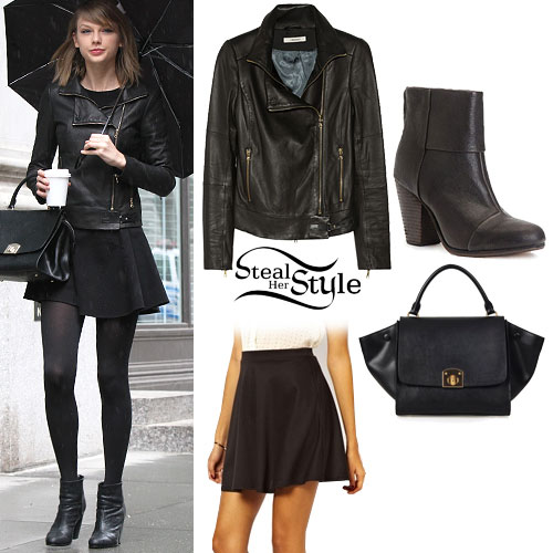 95620a38a144 Taylor Swift  Leather Jacket