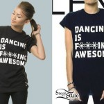 Zendaya: Dancing Is Awesome T-Shirt